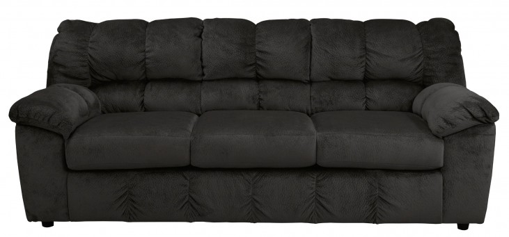 Julson Ebony Stationary Sofa
