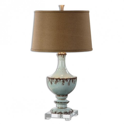 Molara Aged Blue Table Lamp