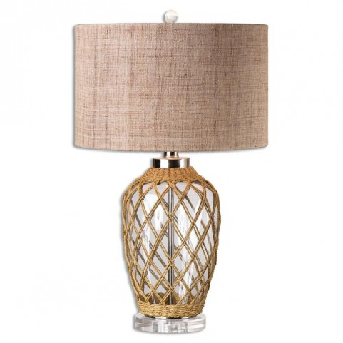 Foiano Glass Rope Table Lamp