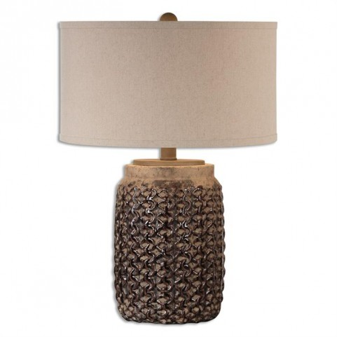 Bucciano Textured Ceramic Table Lamp