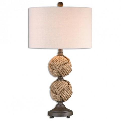 Higgins Rope Spheres Table Lamp