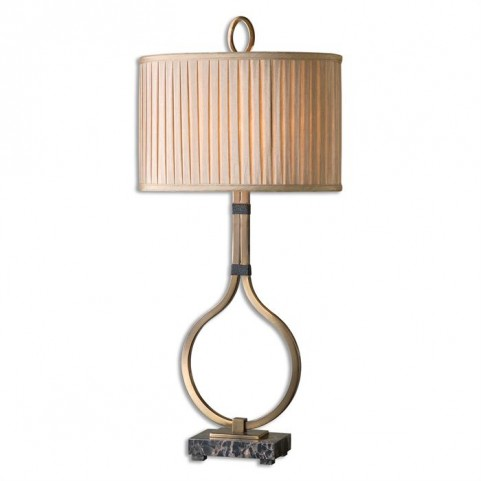 Cusano Brushed Brass Table Lamp