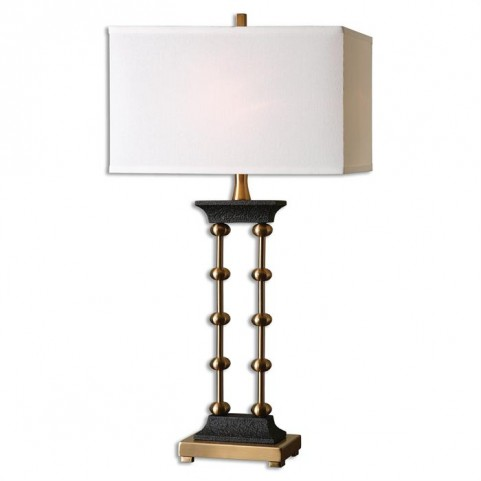 Santona Brushed Brass Table Lamp