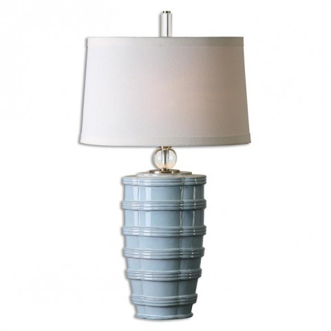 Sassinoro Light Blue Table Lamp