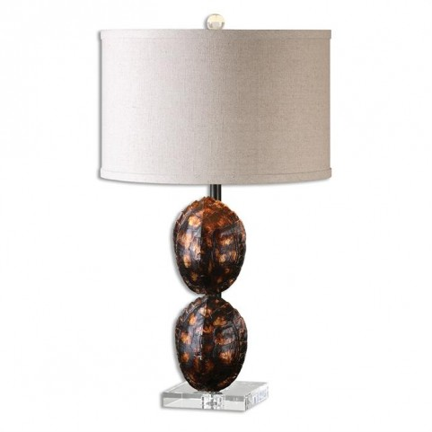 Awanata Tortoise Shell Table Lamp