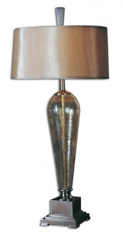 Celine Crackle Glass Table Lamp