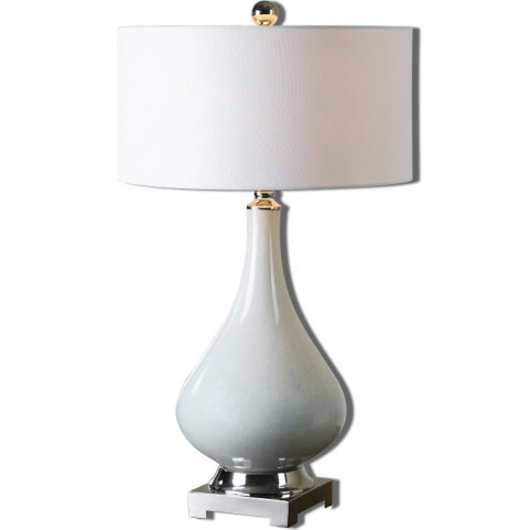 Helton White Table Lamp