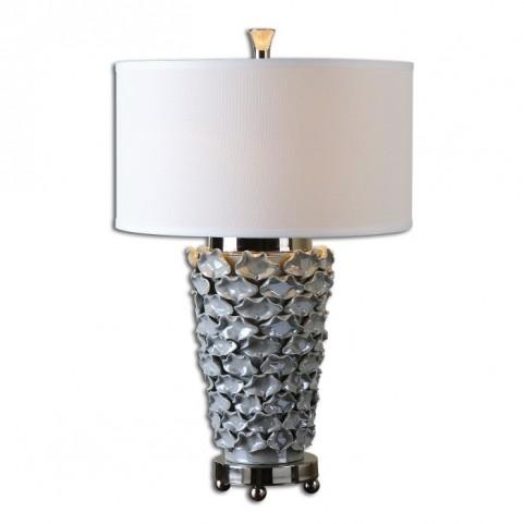 Petalo Pearl Gray Table Lamp