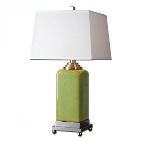 Piven Green Table Lamp