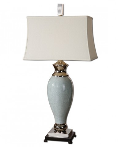 Rossa Light Blue Table Lamp