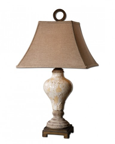 Fobello Ivory Table Lamp