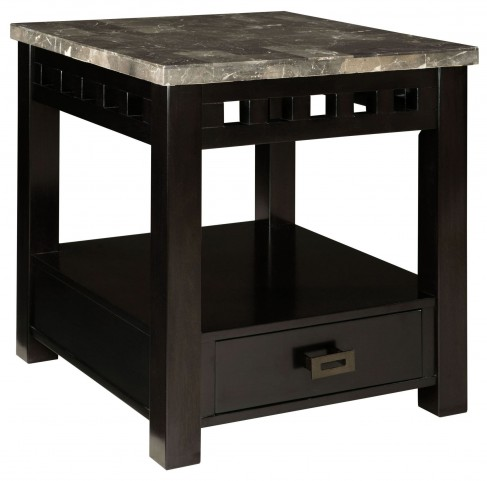 Gateway Grey Drawer End Table