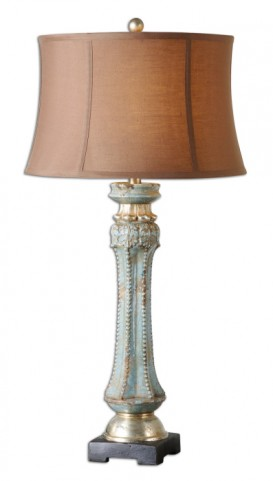 Deniz Blue Table Lamp