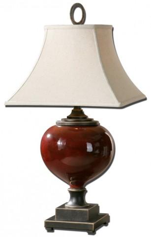 Anka Red Table Lamp