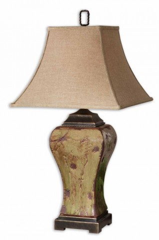 Porano Green Table Lamp
