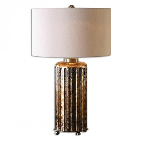 Slavonia Rust Bronze Table Lamp