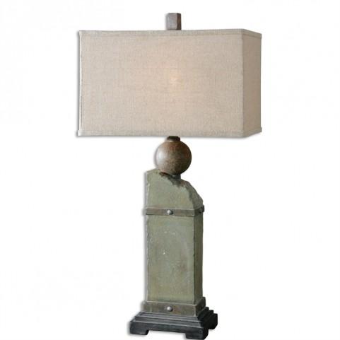 Verdellino Moss Gray Table Lamp