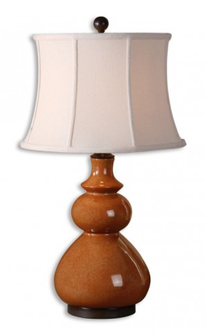 Belfast Red Table Lamp