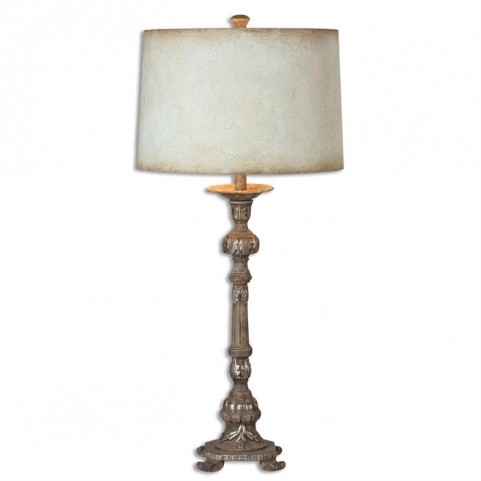 Ballena Stone Gray Buffet Lamp