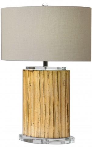 Lurago Bamboo Table Lamp