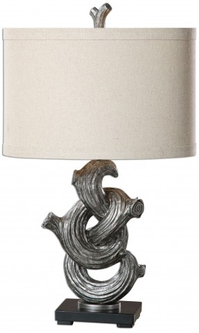 Liana Gunmetal Gray Lamp