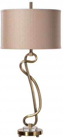 Shalin Brushed Brass Lamp