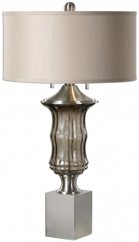 Araby Smoke Gray Lamp