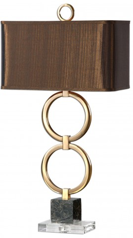 Rogliano Metal Rings Table Lamp