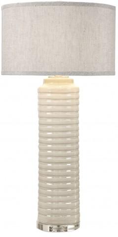 Yana Ribbed Cylinder Lamp