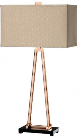 Rashawn Rose Gold Lamp