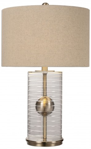 Tupelo Glass Cylinder Lamp