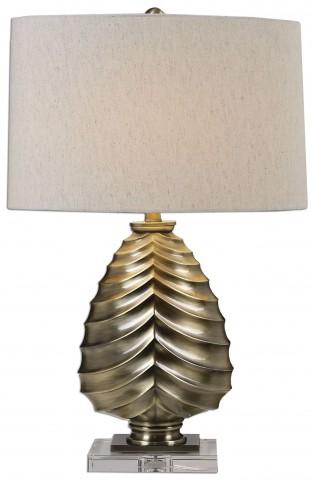 Pieranica Antique Brass Lamp