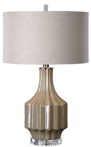 Barron Sand Brown Table Lamp