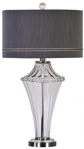 Gironde Fluted Glass Table Lamp