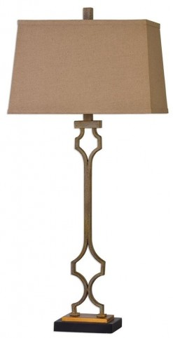 Vincent Gold Table Lamp