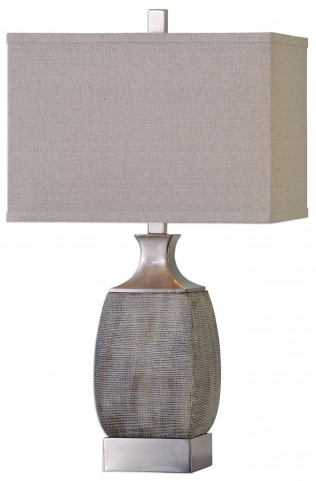 Caffaro Rust Bronze Table Lamp