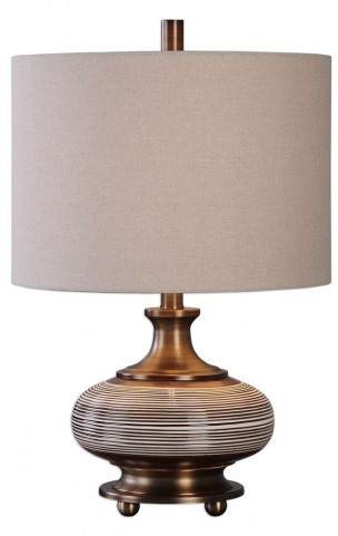 Strona Bronze Ceramic Lamp
