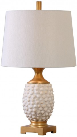 Lazio Ivory Shell Table Lamp