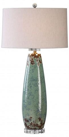 Rovasenda Mint Green Table Lamp