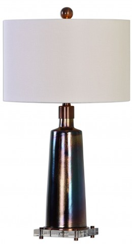 Raciti Dark Bronze Table Lamp
