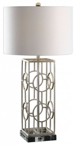 Mezen Silver Table Lamp