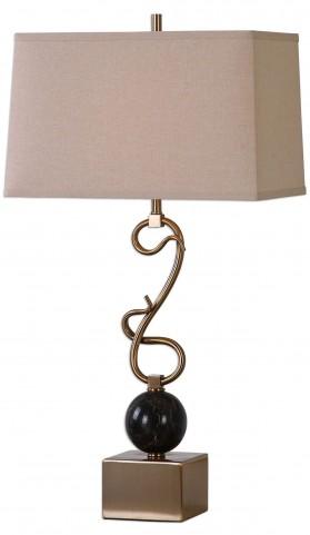 Attila Coffee Bronze Table Lamp