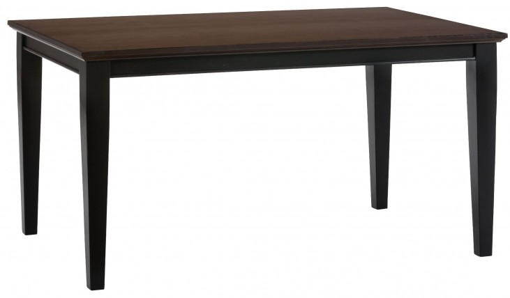 Braden Antique Black Dining Table