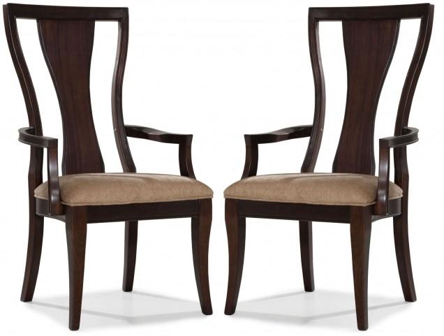 Laurel Heights Splat Back Arm Chair Set of 2