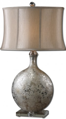 Navelli Silver Table Lamp