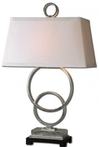 Bacelos Silver Leaf Lamp