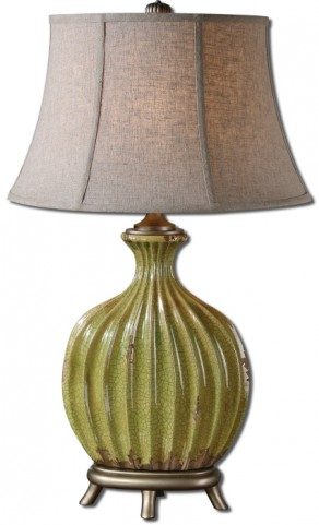 Carentino Green Table Lamp