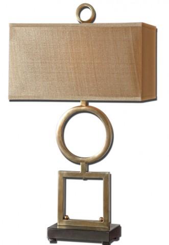Rashawn Coffee Bronze Table Lamp