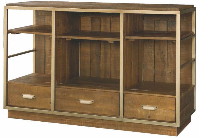 Flashback Rusty Brown Entertainment Console