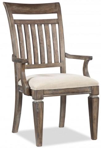Brownstone Village Slat Back Arm Chair Set of 2